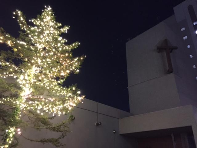 教会のクリスマス