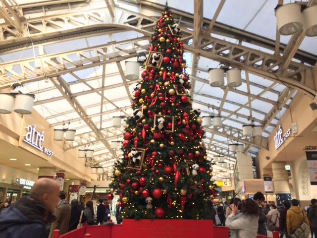 上野駅のクリスマス