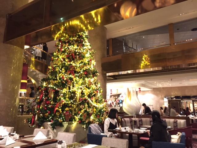 ヒルトン東京のクリスマス
