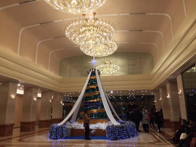 京王プラザのクリスマス