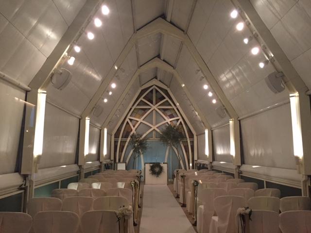 結婚式場のある講演会