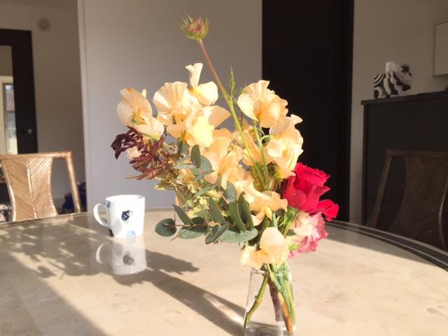我が家の生花