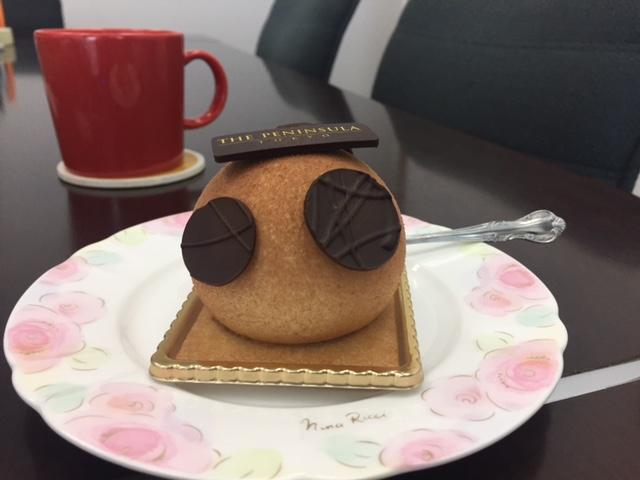 今日はケーキ