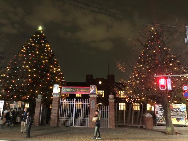 立教大学のクリスマス