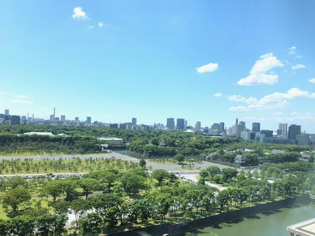 東京は緑の多い町