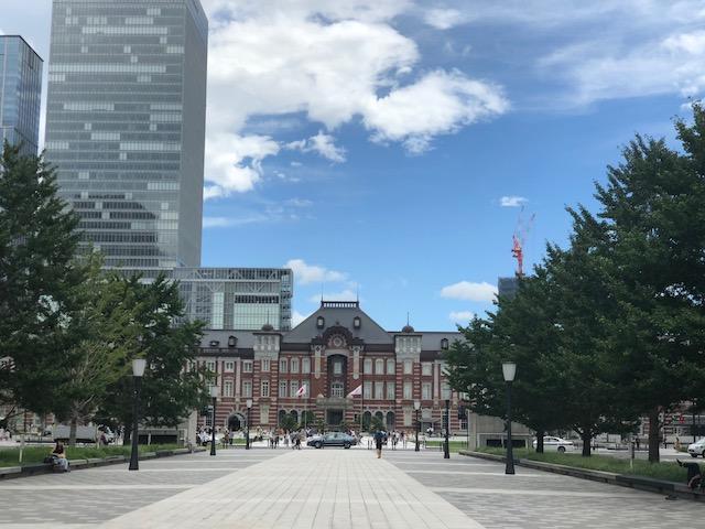 今日の東京駅