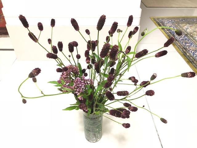我が家の花かご