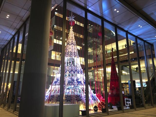 丸ビルのクリスマス