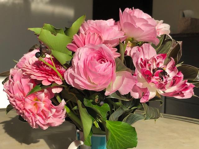 我が家の花束