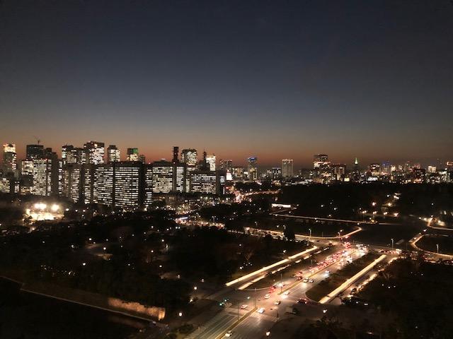 事務所からの夜景