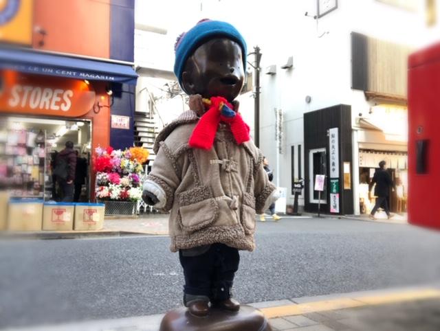 神楽坂の少年