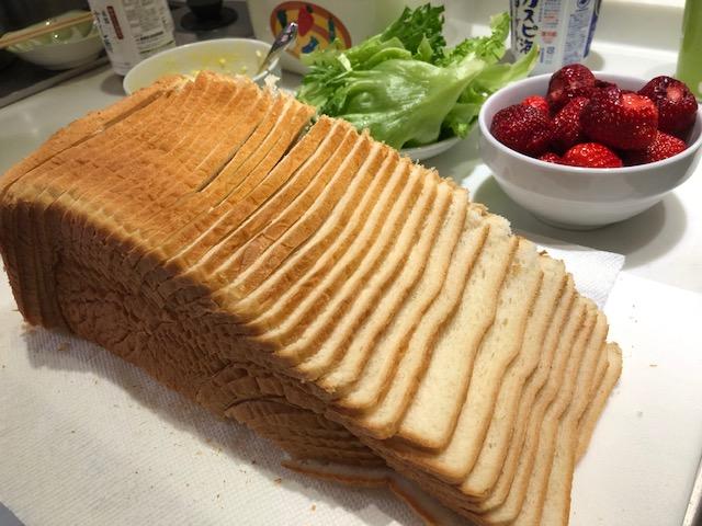パンを切る天才